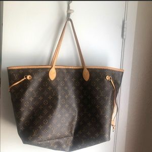 Authentic Louis Vuitton bag Neverfull